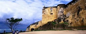 Fort Jesus (Established by the Portuguese in 1593 to help protect the city)