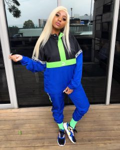 Nadia Nakai from South African is an African Rapper