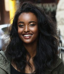 somali woman smiling