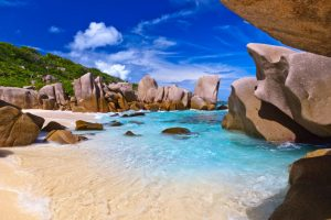 la digue island in africa