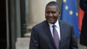 aliko dangote is the richest man in Africa