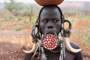 mursi tribe from africa