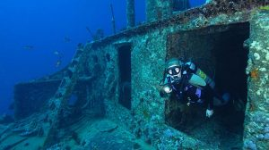 The SS Thistlegorm Dive Site