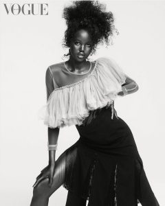 Adut Akech Bior is an african model