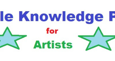 Google knowledge panel for artists